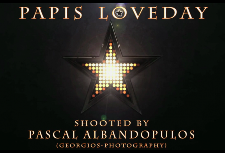 PAPIS LOVEDAY - BEHIND THE SCENES MOVIE